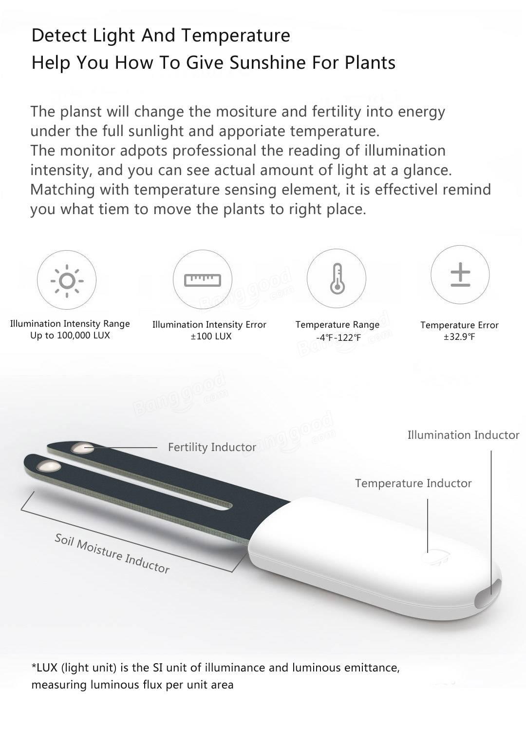 Xiaomi Mi Flora Monitor - Chytrý senzor pro rostliny - XiaomiMarket cz